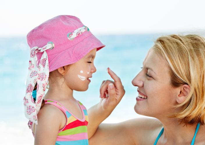 loțiuni de plaja copii