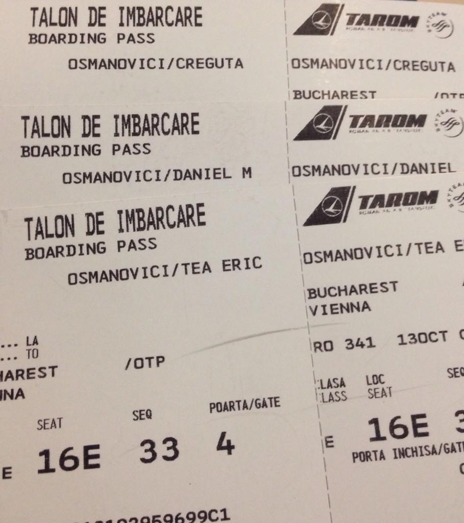 bilete avion Viena