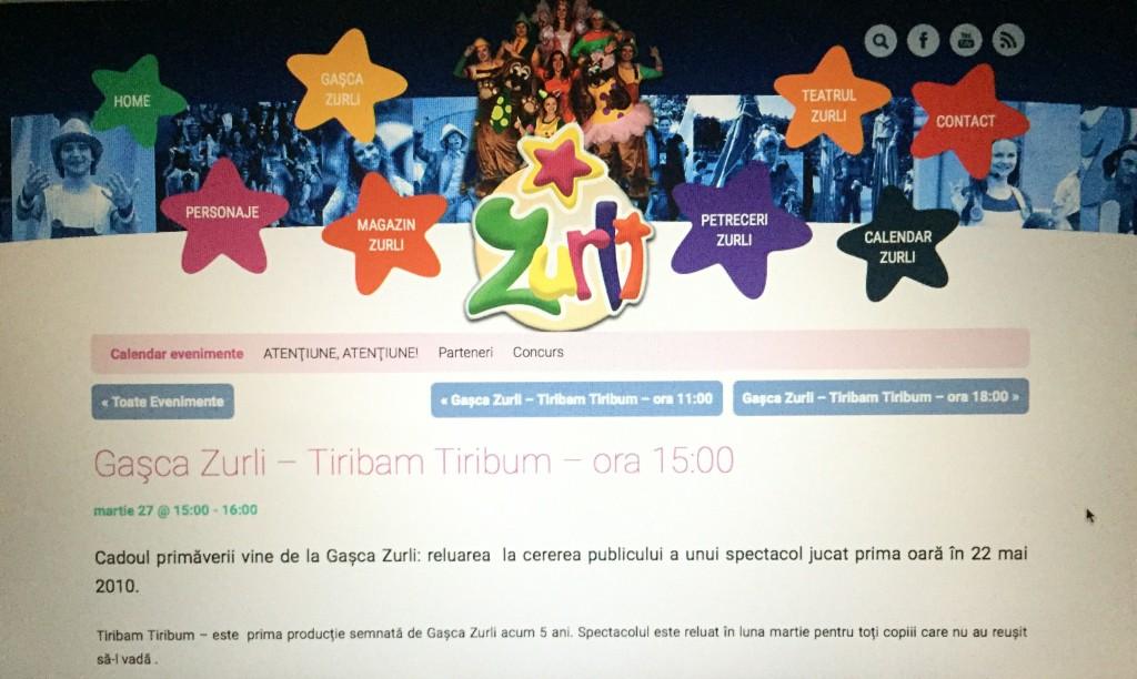 bilete la Gașca Zurli – concurs