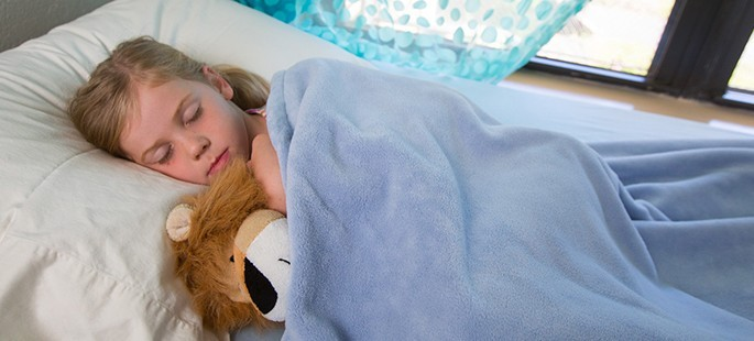 despre somnul copiilor