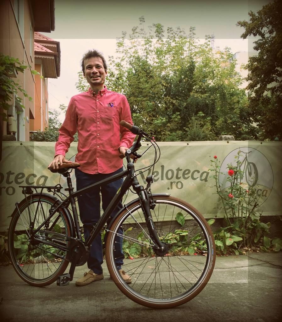 despre un biciclist și cadoul lui