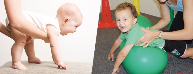 kinetoterapie – sportul bebeluşilor