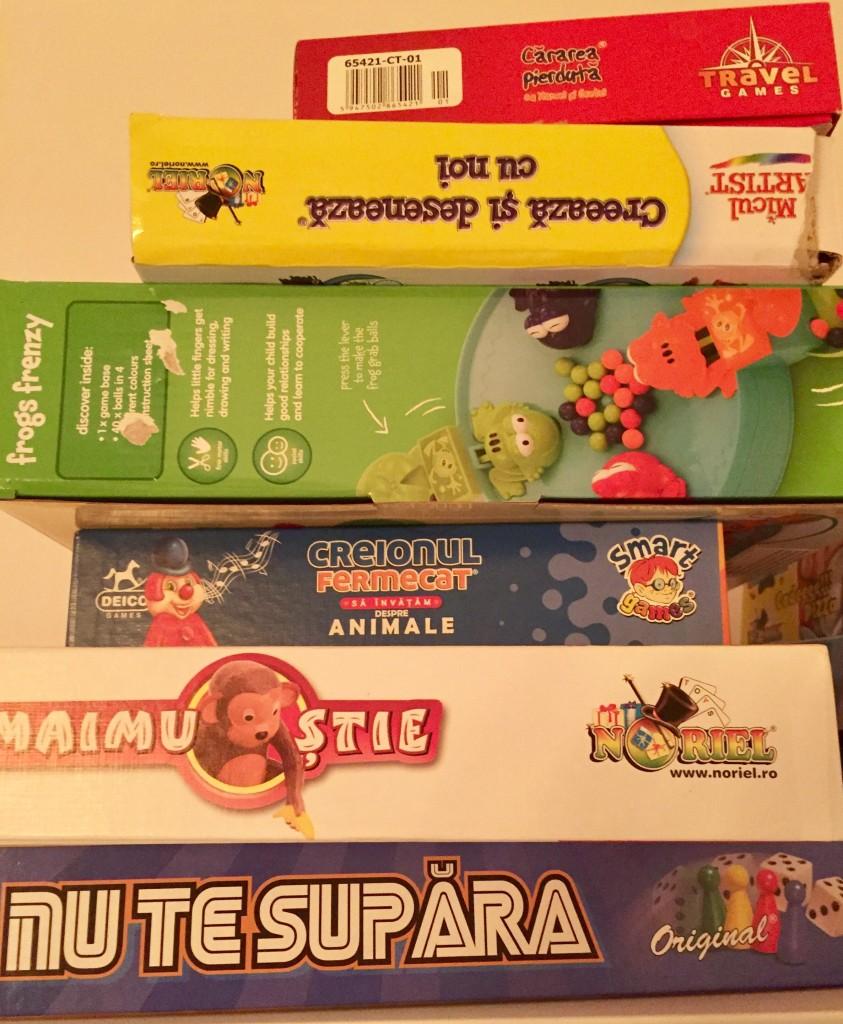 jocuri clasice/boardgames pentru copii