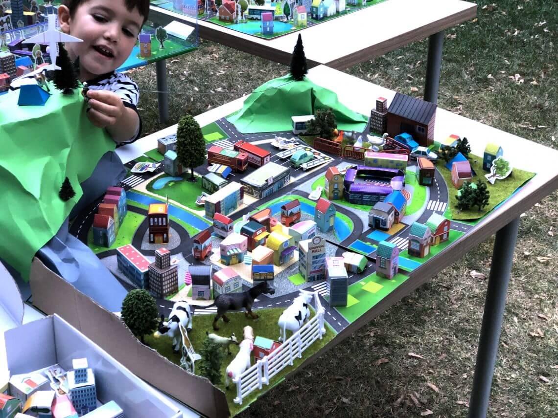 cum credeți că arată orașul în viitor prin ochii copiiilor noștri?