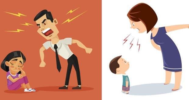 De câte ori ridici vocea la copilul tău pe zi?